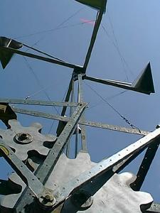 wind powered machine