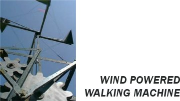 Retrobot: Wind-Powered Walking Machine